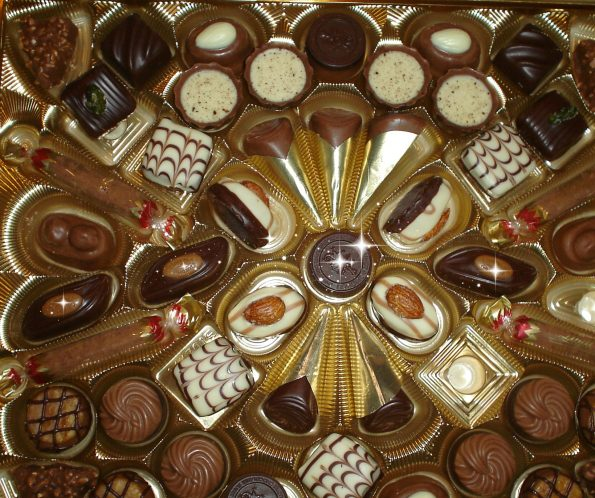 Chocolate selection