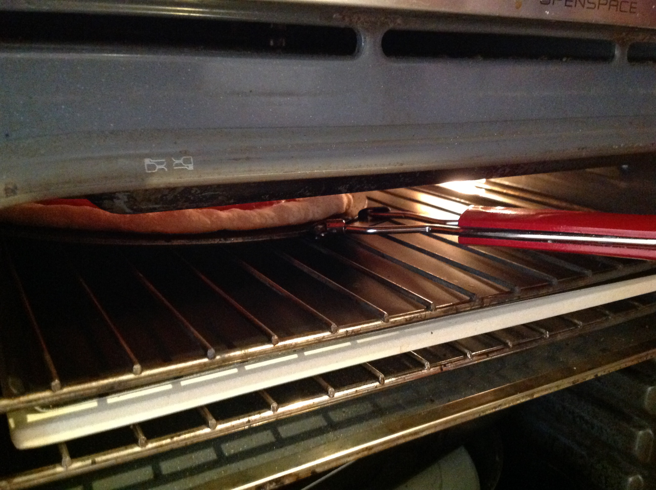 Pizza nel grill 2
