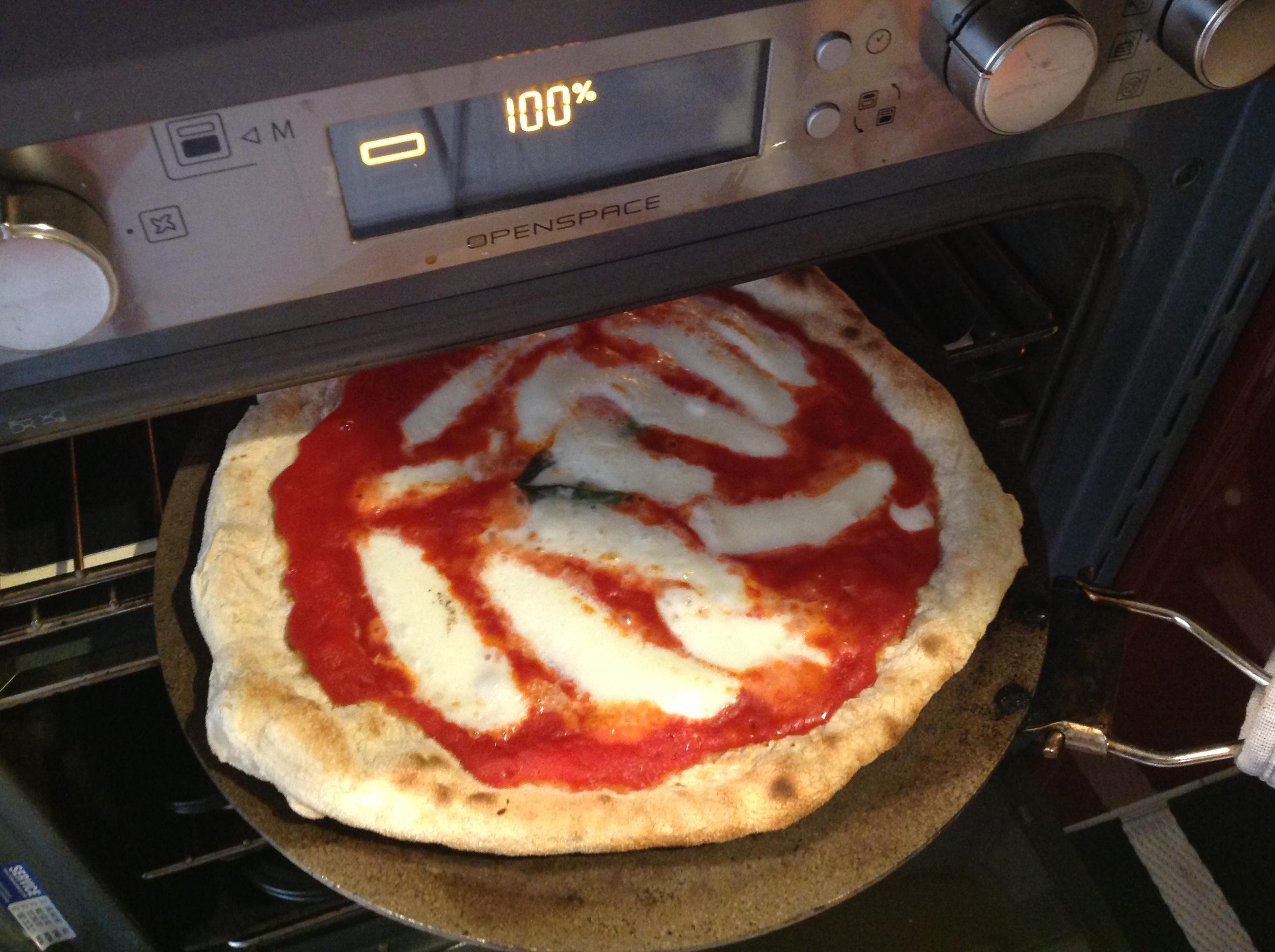 Pizza nel grill 3