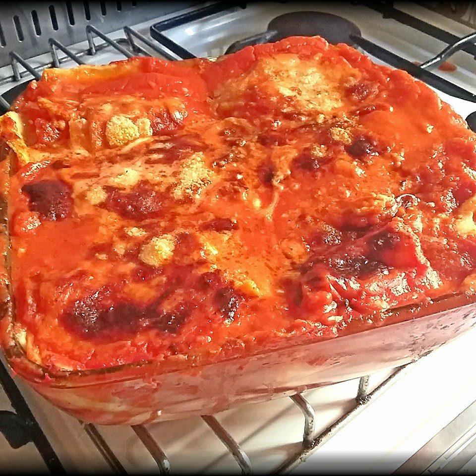 Lasagna gluten-free lactose-free